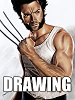Time Lapse Drawing of Wolverine