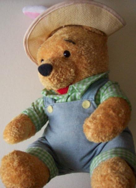 Amazon.com: Pascua granjero peluche de Pooh: Toys & Games