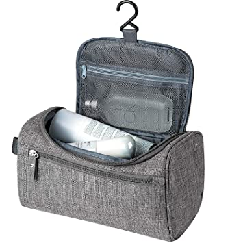 05eaecbae46a Amazon.com   Travel Toiletry Bag for Men Women