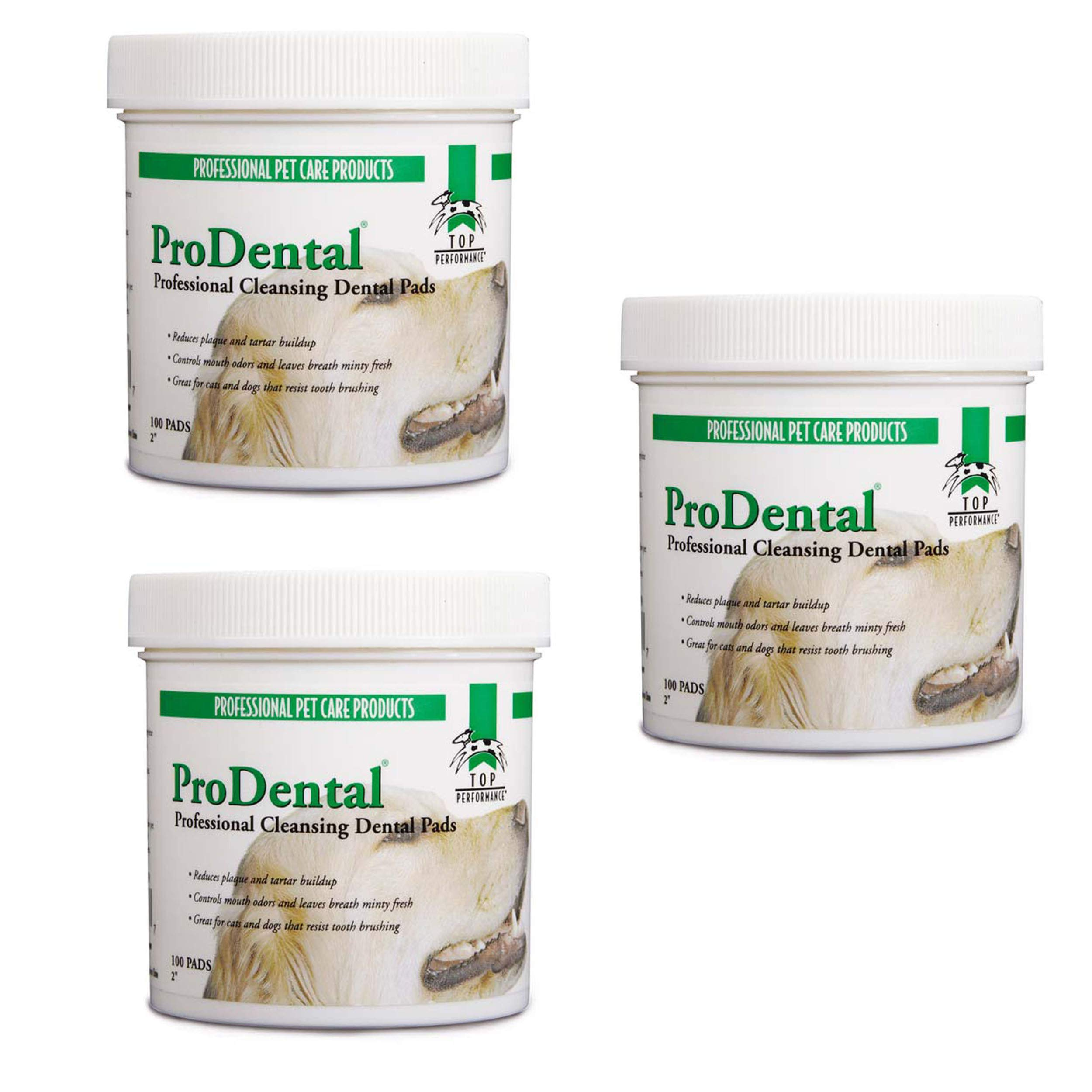 Dog Dental Cleaning Wipes 3 Pack Total of 300 Count Doggy Dental Wipes