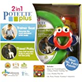 Potette Plus Potty Training Seat Toddler Travel Toilet Chair Liners Books Bags With Toy