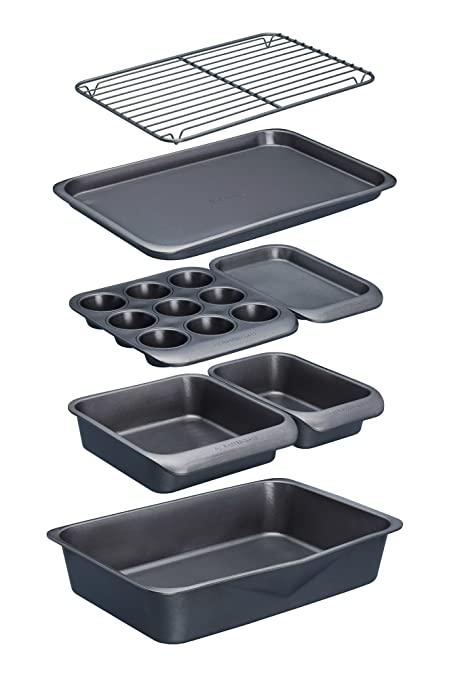 KitchenCraft Non Stick 7 Piece Bakeware Set