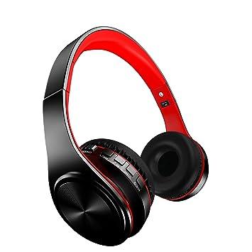 Songwen Auriculares inalámbricos con Bluetooth, cancelación de ruido activo, auriculares de sonido estéreo plegables