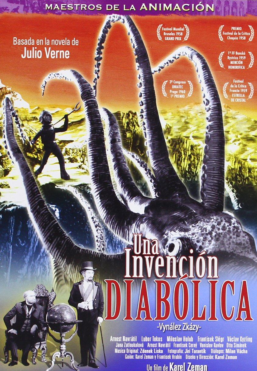 Una invención diabólica [DVD]: Amazon.es: KAREL ZEMAN: Cine y Series TV