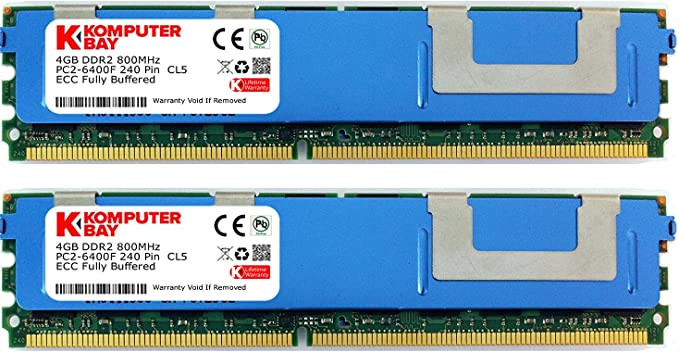 32GB 4GBx8 Mac Pro TESTED PC2-5300F 667MHZ CL5 2Rx4 ECC FB-DIMM For Servers