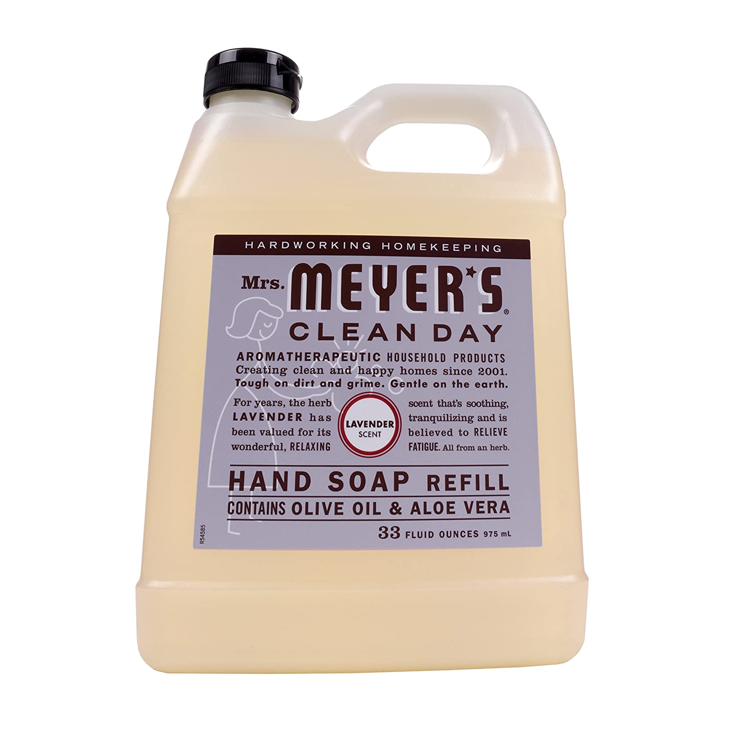 Mrs. Meyers Clean Day Hand Soap Refill, Lavender 33 oz Mrs. Meyer's Clean Day 11163