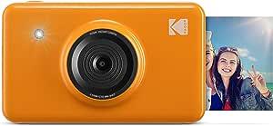 كوداك كاميرا التصوير الفوري اللاسلكية ميني - شوت 2 × 1 + طابعة - اصفر