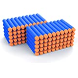 AMOSTING Refill Darts 100PCS Bullet for Nerf N-Strike Elite Zombie Strike Rebelle - Blue