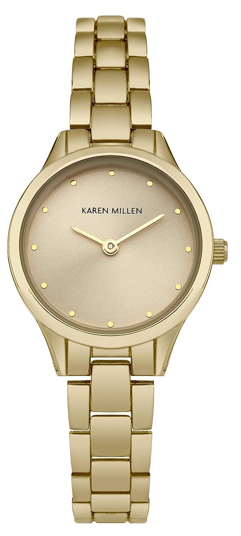 Karen Millen Damen-Armbanduhr Analog Quarz SKM002RGM