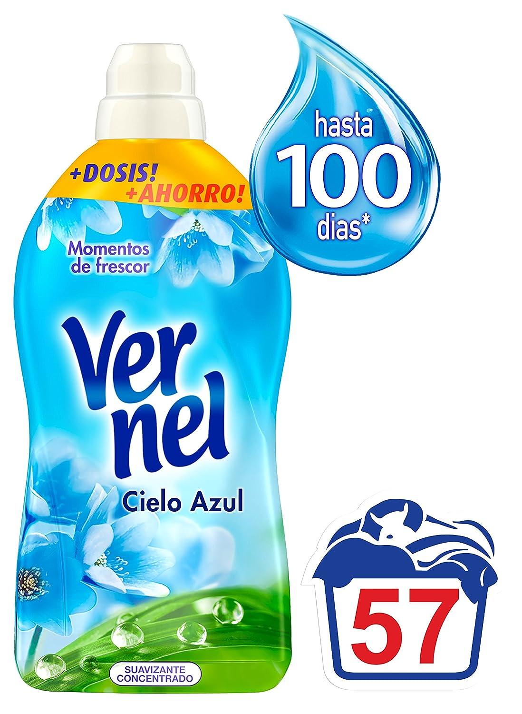 Vernel Cielo Azul Suavizante Concentrado - 57 Dosis: Amazon.es ...