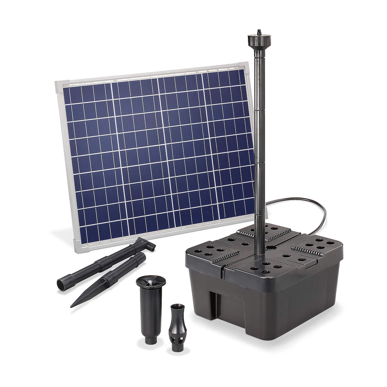 Solar Teichfilter Professional 25W 1250l//h Gartenteich Teichpumpe esotec 100902