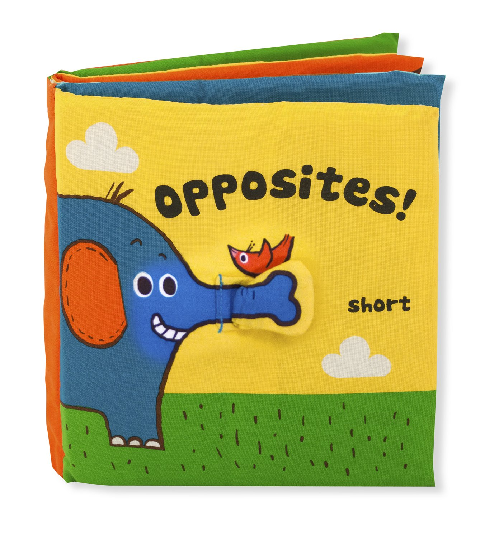 Melissa & Doug Soft Activity Baby Book - Opposites 9211