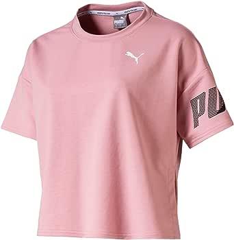 PUMA Womens Modern Sport Sweat Tee Short Sleeve T-Shirt