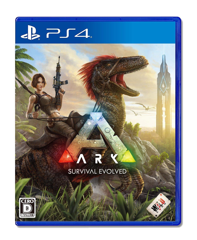 PlayStation 4 ジェットブラック 1TB (CUH-2100BB01) + ARK: Survival Evolved セット B075WXY1NF 4) PS4 本体セット (ブラック HDD:1TB)
