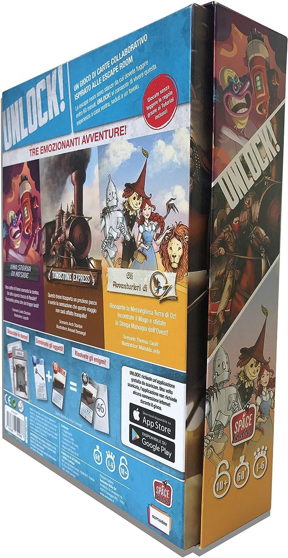 Asmodee Italia Unlock Secret Adventures Juego de Mesa, Color Rosa, scunl03it: Amazon.es: Juguetes y juegos