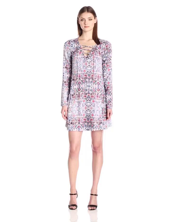 Ella moss Women's Yvette Dress, Multi, Medium