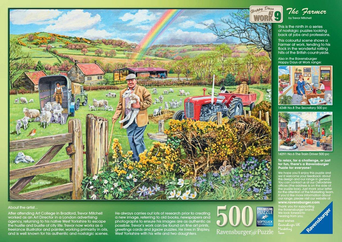 500 Teile Softclick Ravensburger Puzzle Großmutters Dachboden neuwertig Puzzles & Geduldspiele