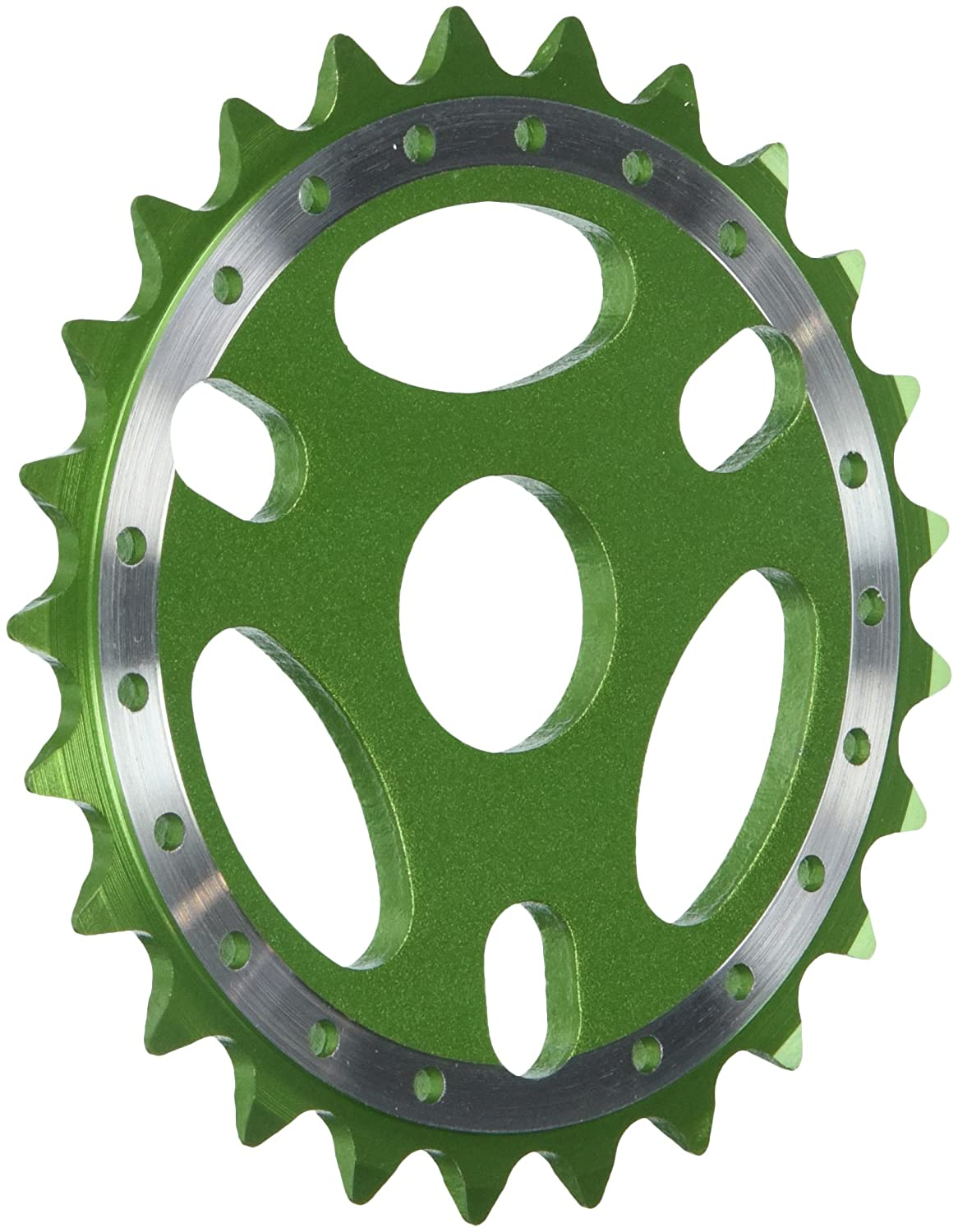 Light Green Bmx-For 1//2 x1//8 Chain Alloy Big Roc 57CSS127LG Sprocket 25T
