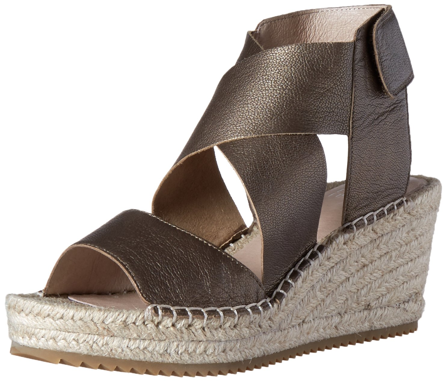 Eileen Fisher Women's Willow-ml Espadrille Wedge Sandal B01HPZCVC2 9.5 B(M) US|Bronze