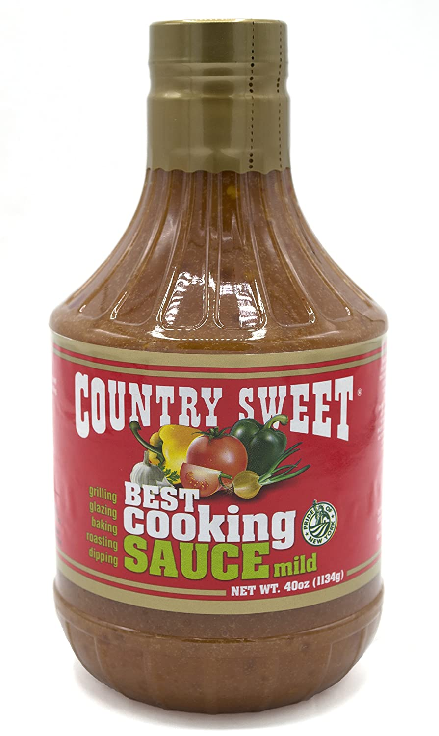 Country Sweet Sauce - Premium Cooking and Finishing Sauce (Mild, 40 ounces)