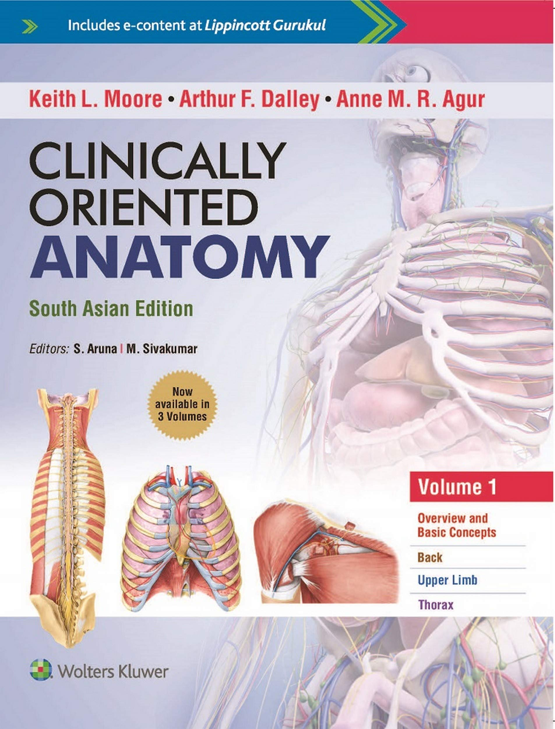 Buy Clinically Oriented Anatomy - South Asian Edition Book Online at ...