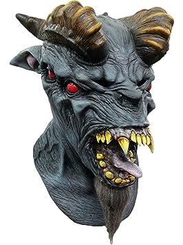 Máscara integral demonio del infierno hombre - Única
