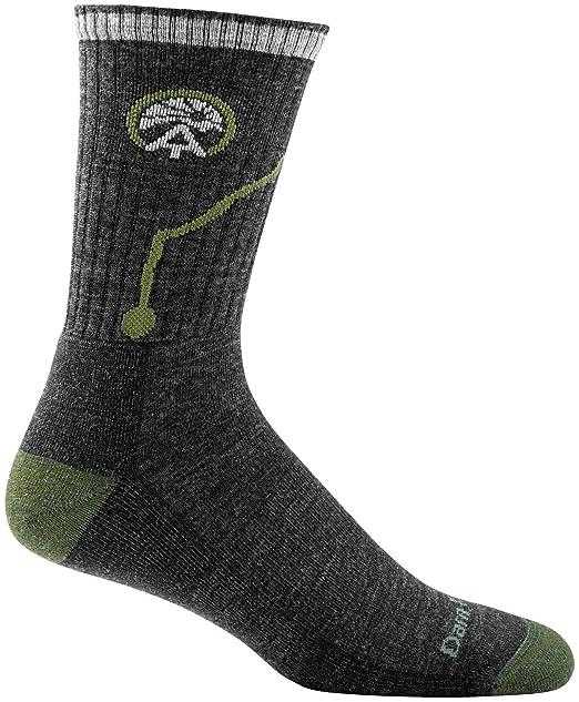 b28a0e43a18 Amazon.com  Darn Tough Vermont Men s ATC Merino Wool Micro Crew Cushion  Hiking Socks  Clothing