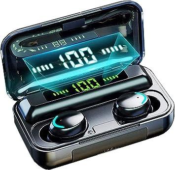 Auriculares inalámbricos, Auriculares inalámbricos Bluetooth 5.0 inalámbrico Auriculares Bluetooth estéreo TWS Impermeables Auriculares internos ...