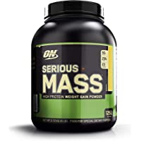 Optimum Nutrition Serious Mass Gainer Protein Powder, Banana, 6 Pound