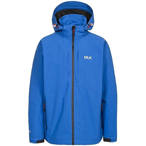 9d08488d5 Trespass Mens Kumar Waterproof DLX Jacket (XXS) (Electric Blue): Amazon.co. uk: Clothing