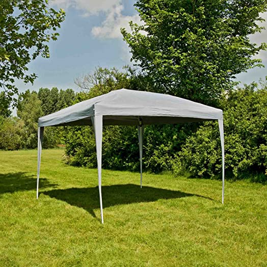 Stable Gazebo 28 X M Of Giardino Waterproof Grey