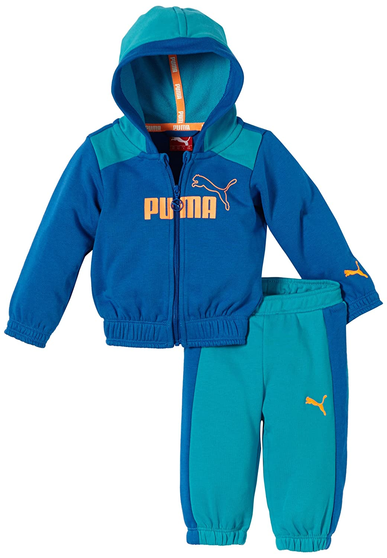 PUMA ESS Hooded Jogger - Conjunto Deportivo con Capucha para bebé ...