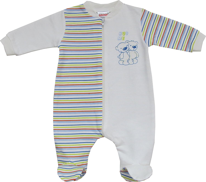 Schnizler Unisex Baby Schlafstrampler Interlock, Schlafanzug, Hug Me Mehrfarbig (221) Playshoes GmbH 12122495