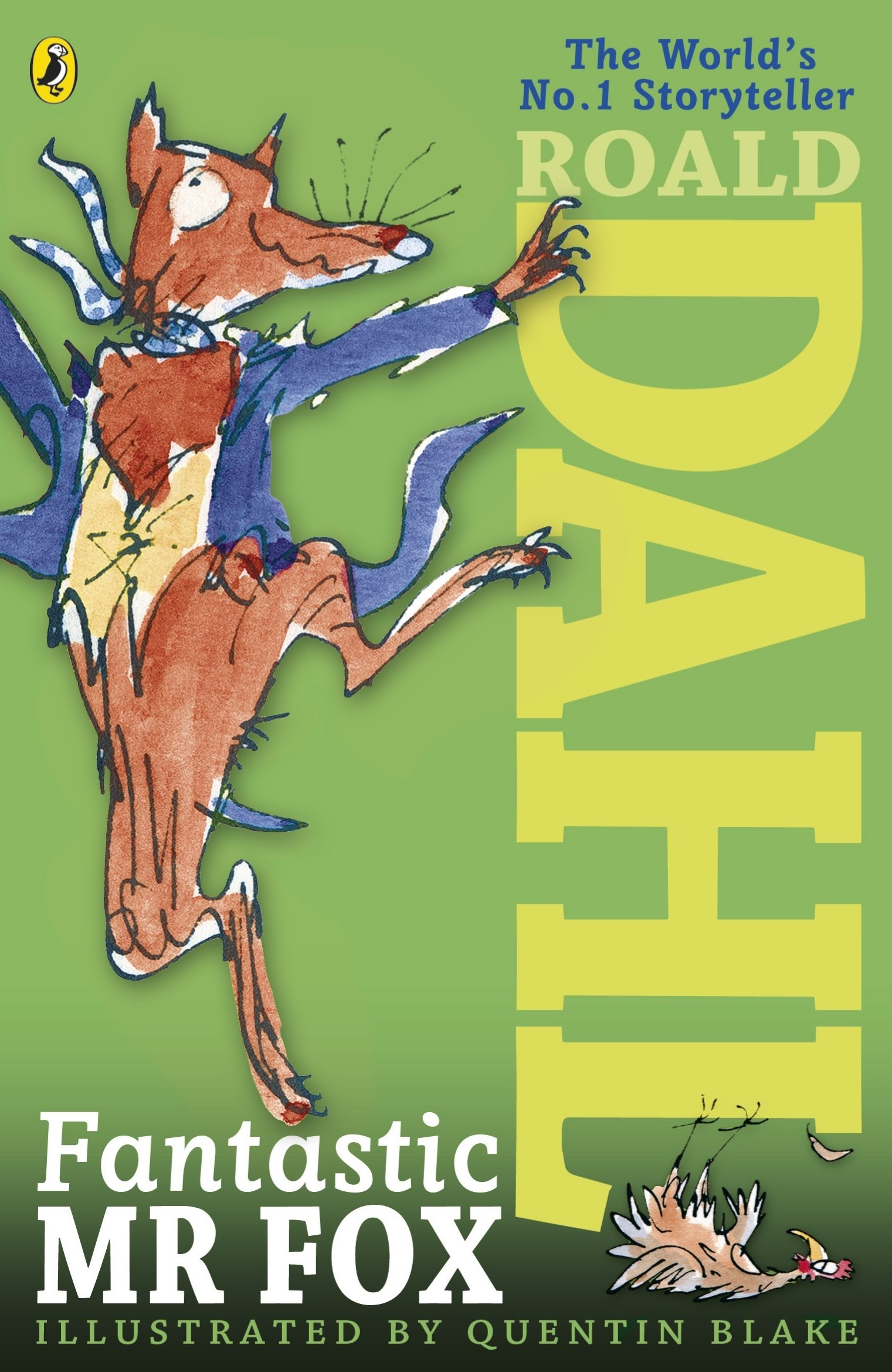 Fantastic Mr Fox: Amazon.co.uk: Dahl, Roald, Blake, Quentin: 9780141346441:  Books