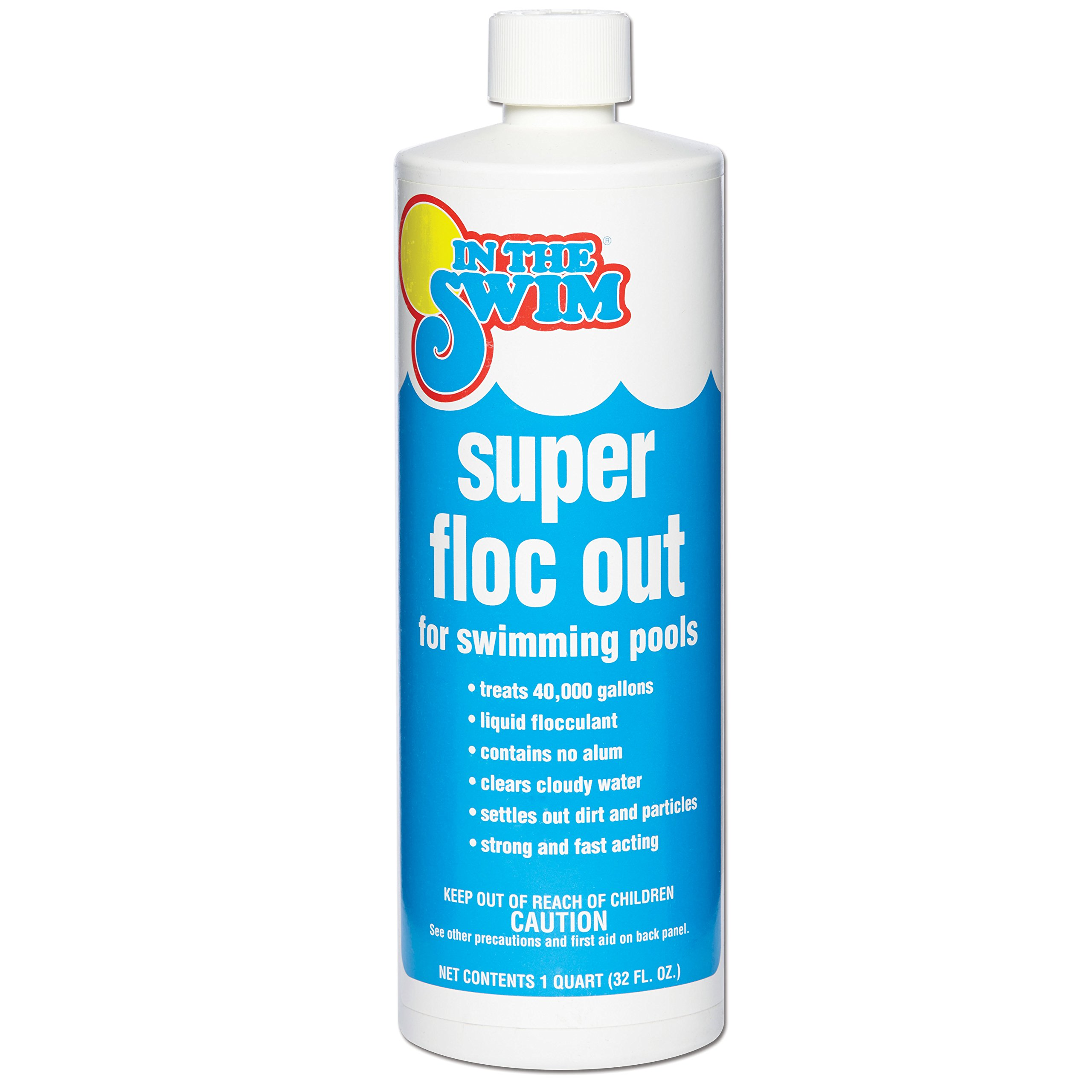 In The Swim Super Floc Out Pool Water Clarifier - 1 Quart by In The Swim