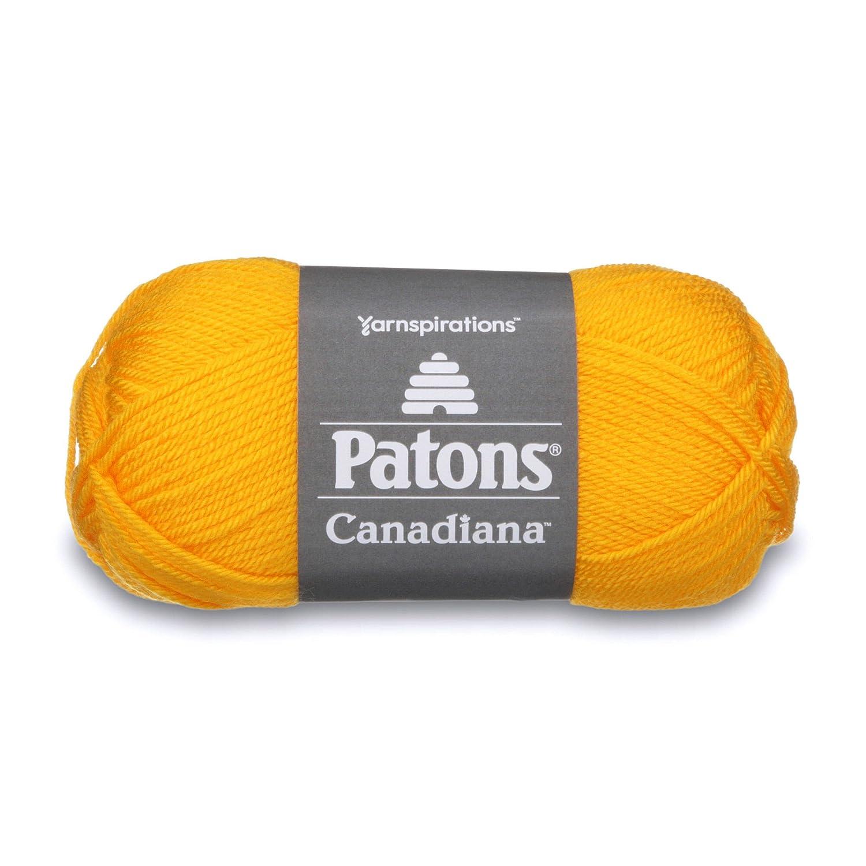 Spinrite Canadiana Yarn, Solids, Medium Grey Mix 24451010044
