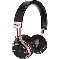 Wireless BlueAnt Pump Soul on Ear Wireless Headphones, Black Rose Gold, Black Rose Gold, (Pump-Soul-BR)