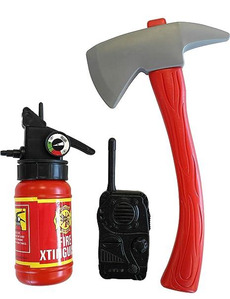 Accessori dda pompiere per bambino  Amazon.it  Giochi e giocattoli 29acdca92697