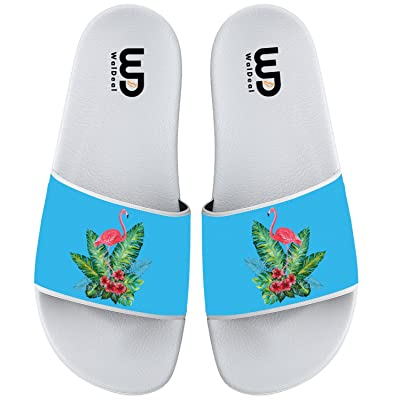 bf2f756c58a82a Flamingo Tree Summer Non-slip Slide Sandals Home Shoes Beach Swim Indoor  and Outdoor Slipper Women Men