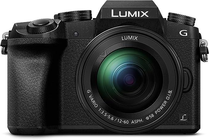 Panasonic Lumix DMC-G70MEG-K Cámara réflex Digital Juego de cámara SLR 16 MP Live Mos 4592 x 3448 Pixeles Negro - Cámara Digital (16 MP, 4592 x 3448 Pixeles, Live Mos, 4,8X, Full HD, Negro)