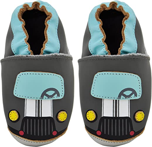 Carozoo 22 Models Baby Shoes Leather Soft Sole Prewalker Slippers Socks Toddler Kids Shoes