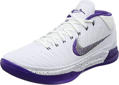Nike Men S Kobe Ad Ep White Court Purple Black 7 M Us Amazon Ca Shoes Handbags