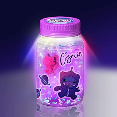 So Glow Mini Jar Single Blister Cards, Multicolor: Toys & Games