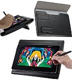"""Broonel Folio Cuir debout Fonction graphiques tablettes Housse Coque Étui Couverture Pour WACOM Cintiq Pro 13"""" Graphics Tablett"""
