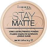 Rimmel London, Stay Matte Pressed Powder, Shade 005, Silky Beige