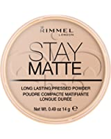 Rimmel - Stay Matte - Poudre matifiante - Beige Soyeux - 14 g
