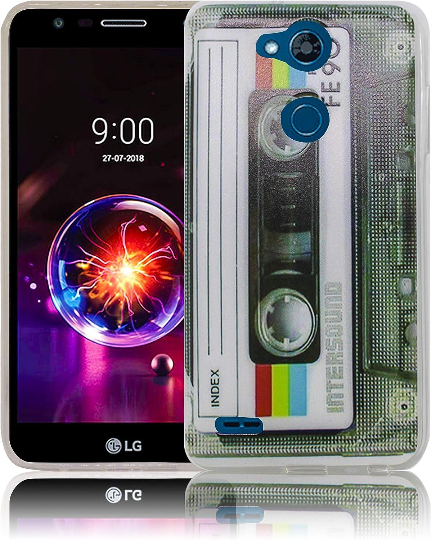 thematys® LG X Power 3 pisciare al Litio Funda de Silicona para ...