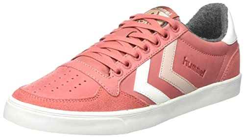 hummel Damen Slimmer Stadil Duo Oiled Low Sneaker