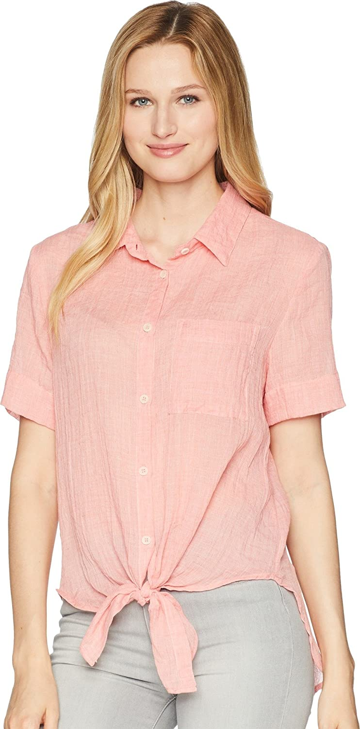 Dylan by True Grit SHIRT レディース B076VPBDMP X-Small|Soft Red Soft Red X-Small