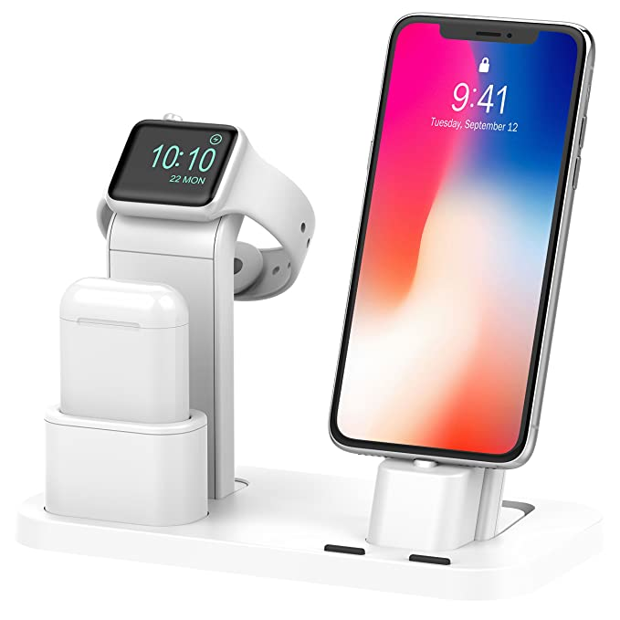 8cf40d78ef9 BEACOO for Apple Watch Stand Charging Stand for Apple Watch AirPods Stand  Charging Docks Holder for